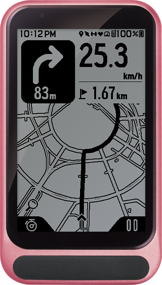 trimm One pink color device